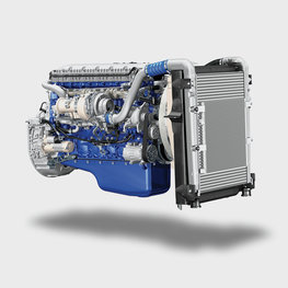 New fuel-efficient engine for Volvo FE