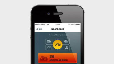 Volvo Trucks Dynafleet Fuel and Environment app