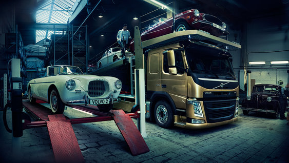 The new Volvo FM rigid with box superstructure